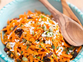 Carrot Coconut Salad