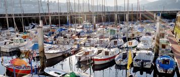 Puerto de San Sebastian, España