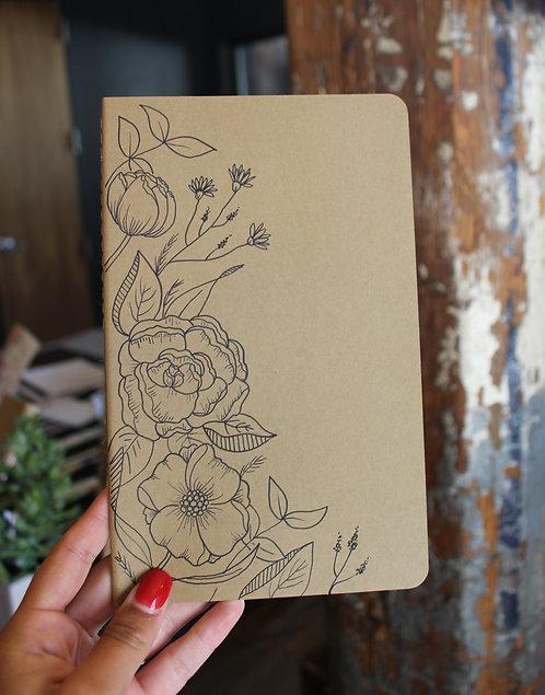 Custom Hand Drawn Journals