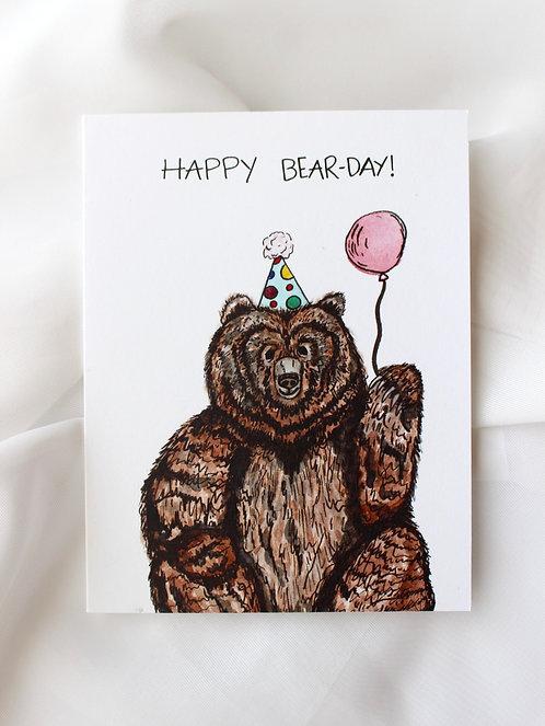 Happy Bear-day