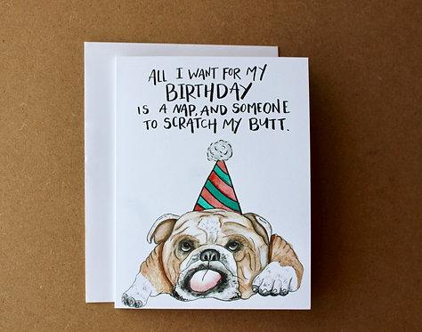 Bulldog Birthday