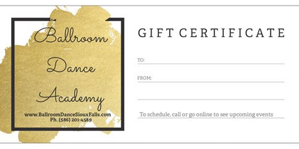 Holiday/Birthday Gift Certificates