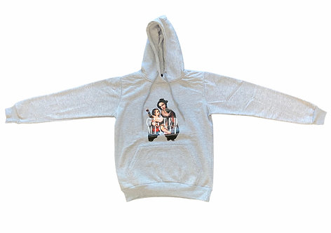 """SIGNATURE """"BABY ANGEL"""" PULLOVER HOODIE"""