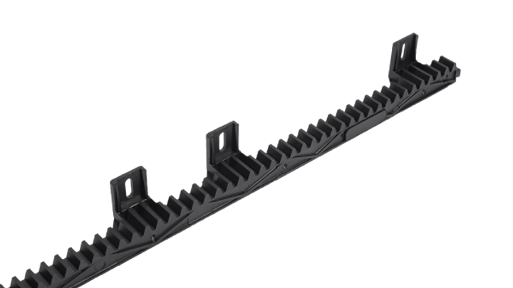 Nylon Coated Steel Toothed Rack