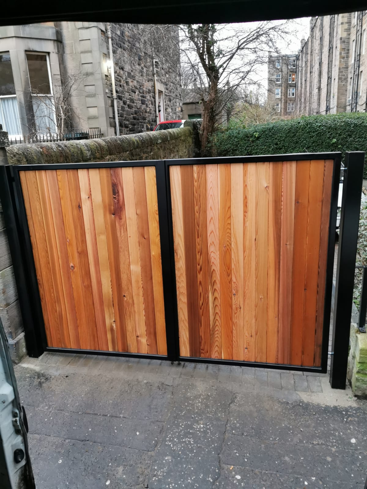Steel & Wood Gates