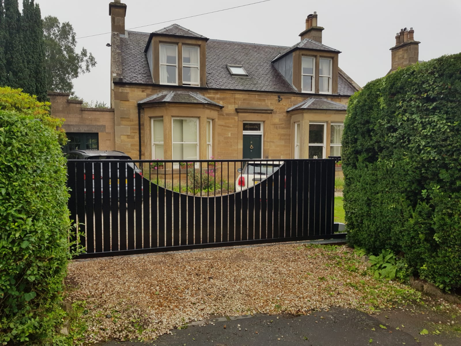 Steel Track Sliding Gate