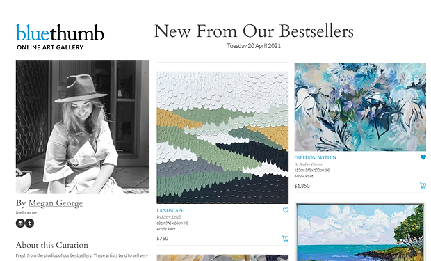 CURATION - From Our Best Sellers April 2