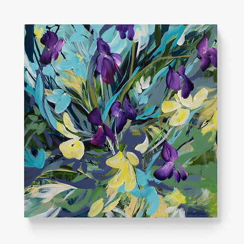 Words of Wisdom - Floral Painting