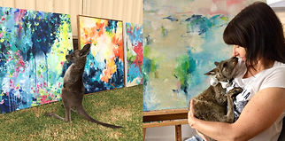South-Australian-colour-loving-abstract-artist-Amber-Gittins.-Affordable-abstract-artwork-for-your-home-decorating
