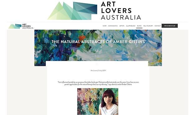 Art Lovers Australia July 2019 Blog arti