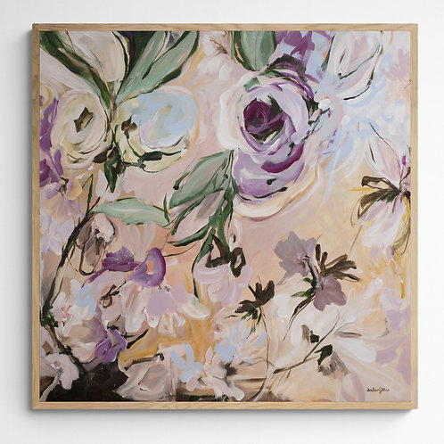 Perfect Moment - Modern Abstract Floral