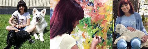 Australian-nature-and-flower-abstract-artist-Amber-Gittins