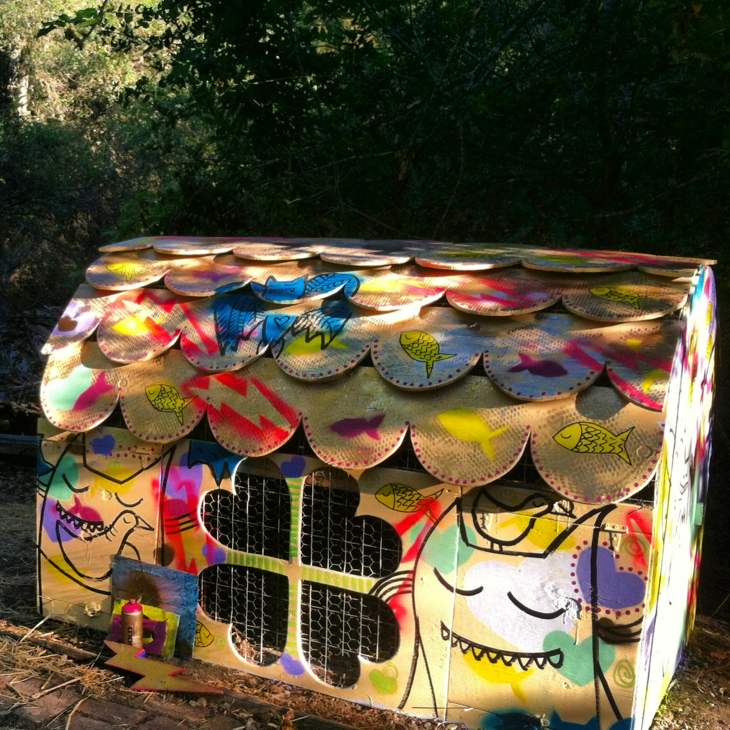 Chicken Coop, Santa Cruz