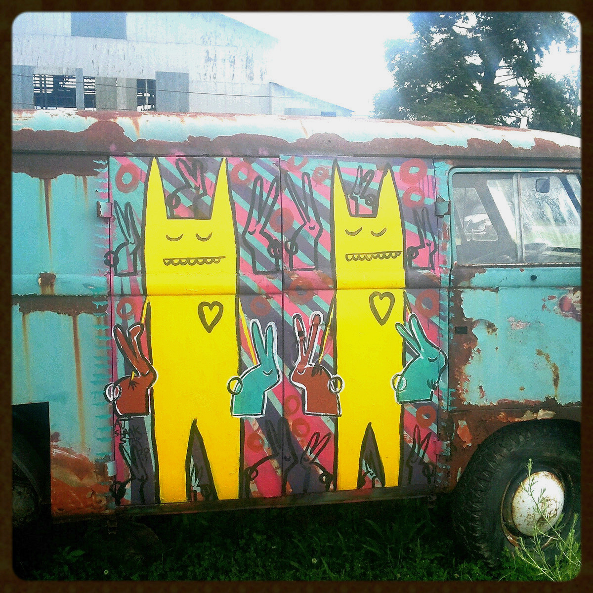 VW Bus, Roanoake Virginia