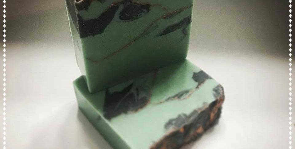 Turquoise Gemstone Soap