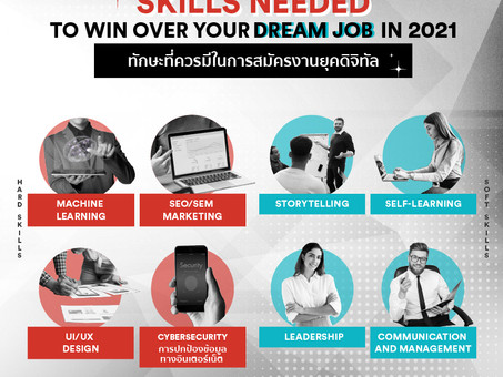 Skills Needed to Win over your Dream Jobs in 2021