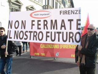 Lettera Unitaria alla Regione Toscana per le aziende del settore energie rinnovabili  in crisi.