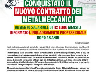 CCNL Metalmeccanici - Nuovo Contratto 2021-2024