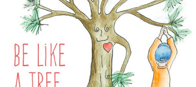 Be Like a Tree Children's book