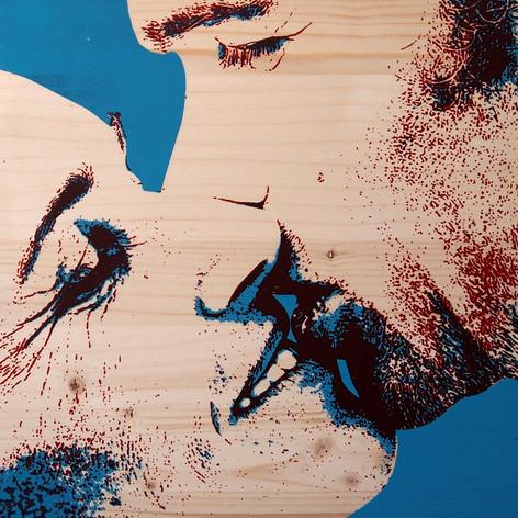 Serie Totem Retrato - The Kiss (Vanessa Paris, 2018)