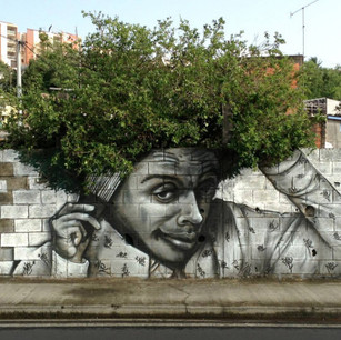 Street art, transforming the street into a museum