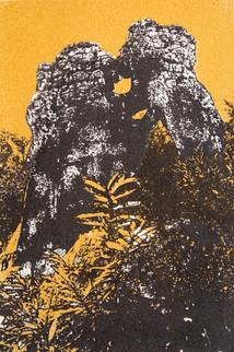 Serigrafía de Vanessa Paris
