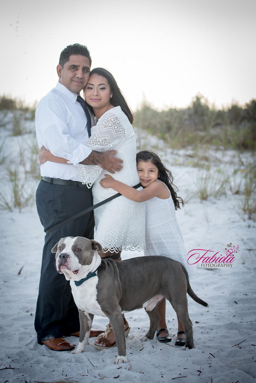 Family Session in Beach in Sarasota