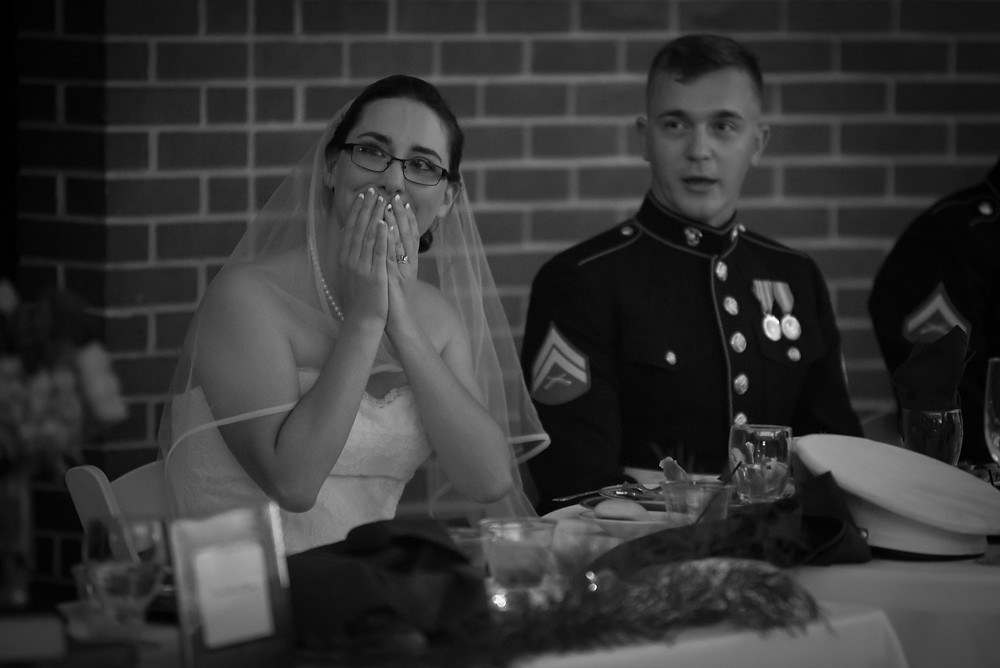 Emotions during Bridesmaid's toast