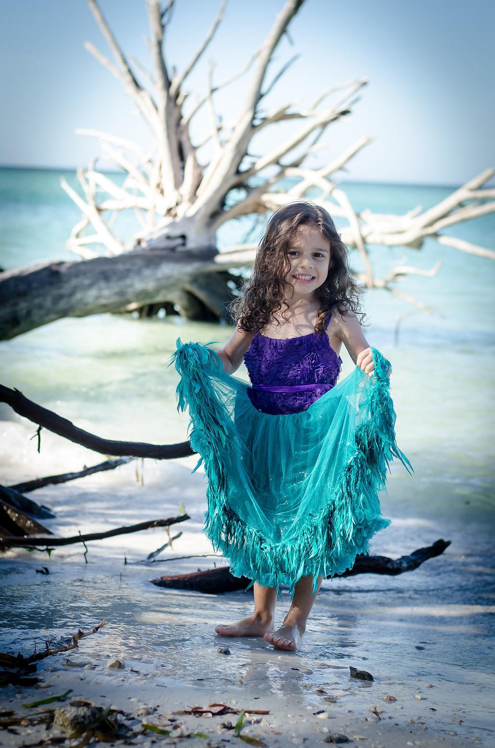 Mermaid Gianna in Sarasota
