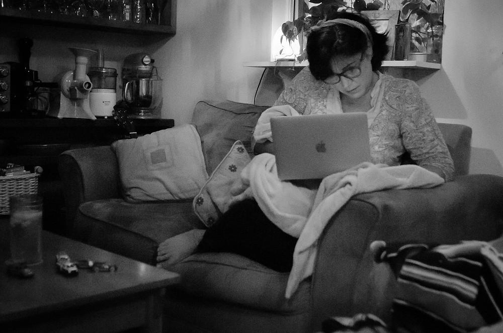 Blogging at home