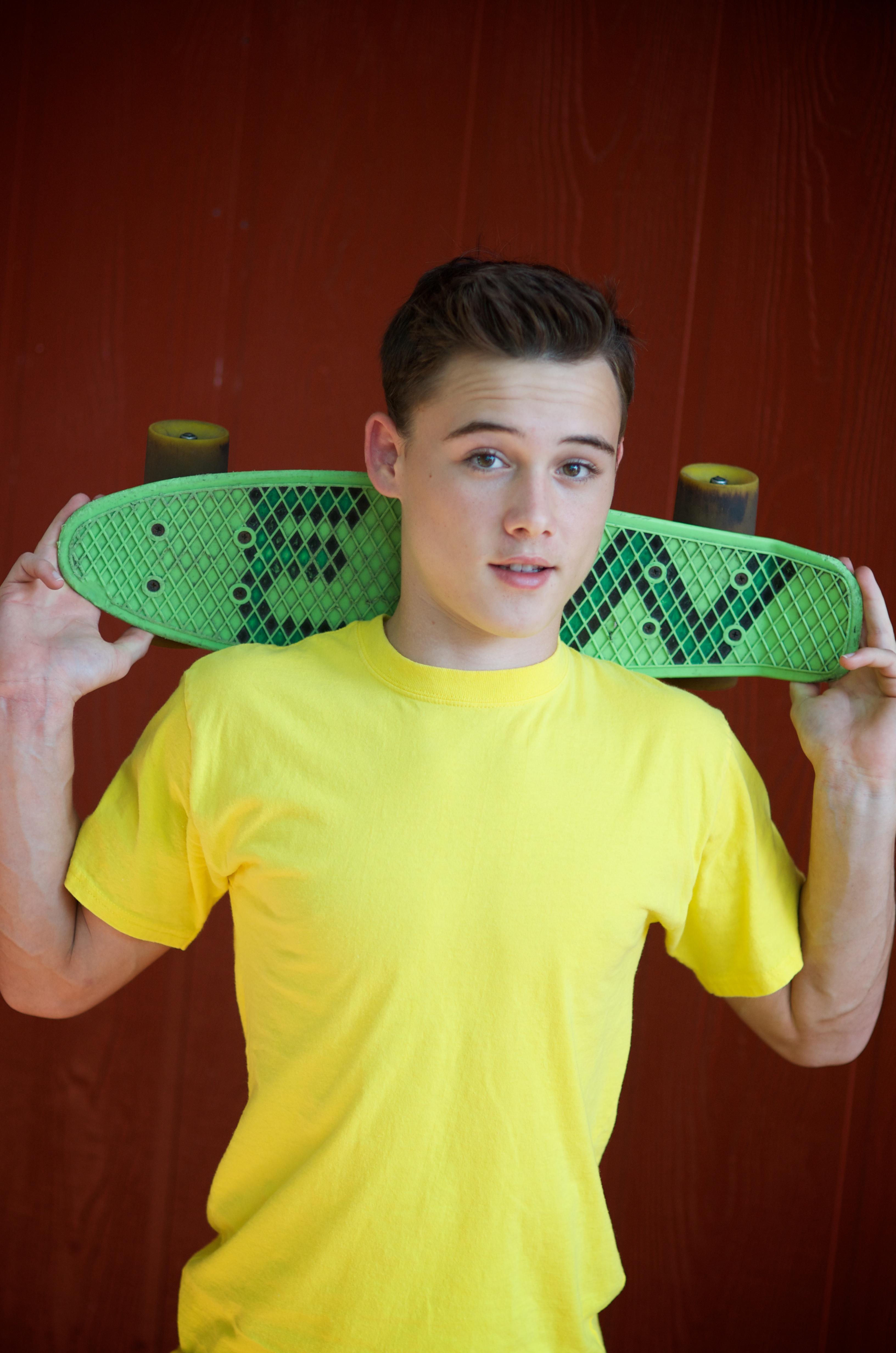 High School Boy Model