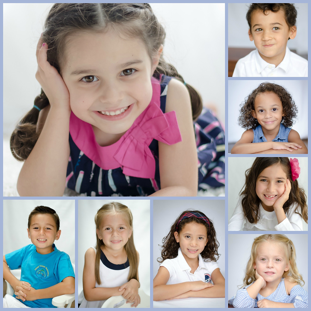 Beautiful school children studio photos at Fabiola Fotography