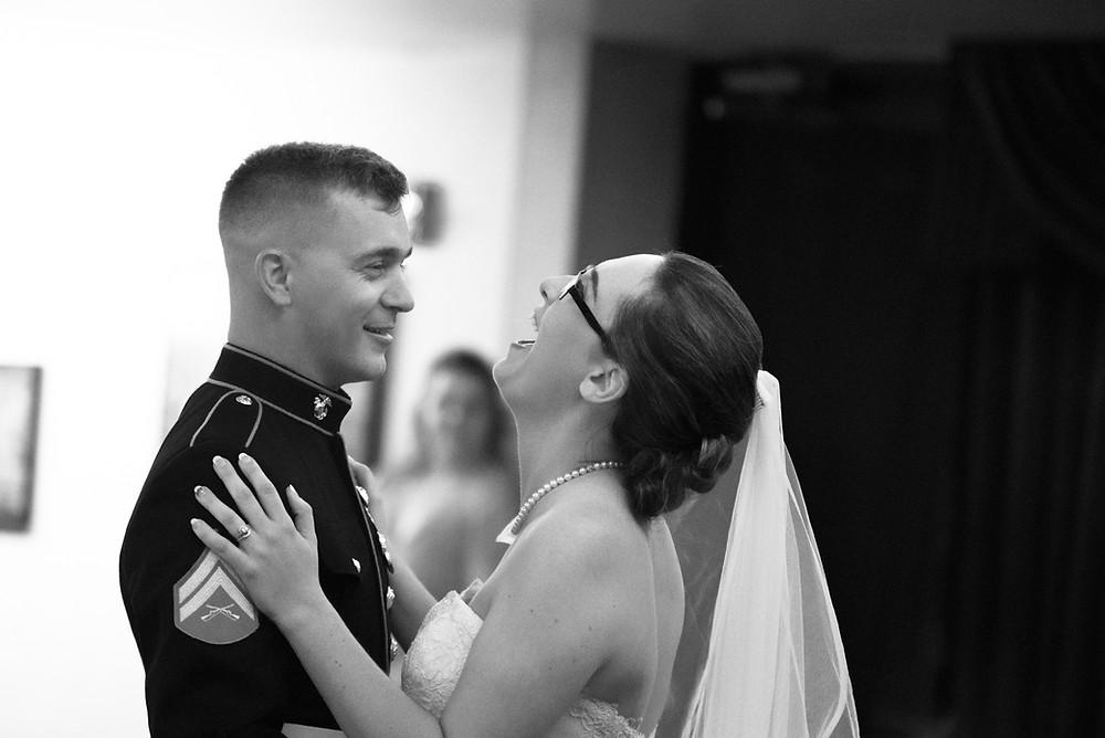 Haley was such a happy bride