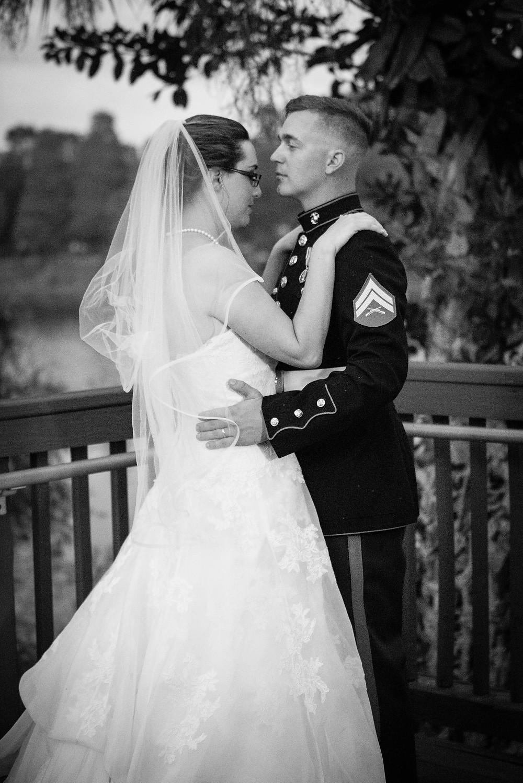 Bride and Groom in Brandon