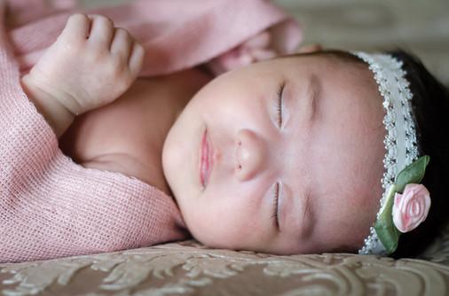 Newborn baby girl picture