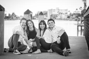 Family in Sarasota