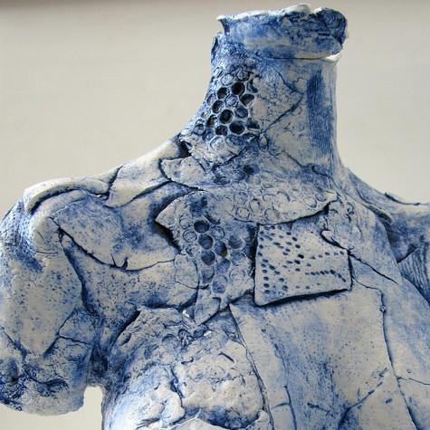 porcelain exhib piece - torso
