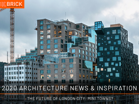 Architecture news and Inspiration · The Future Of London City: Mini Towns?