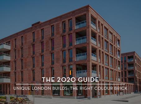 The 2020 Guide · Unique London Builds: The Right Colour Brick ·