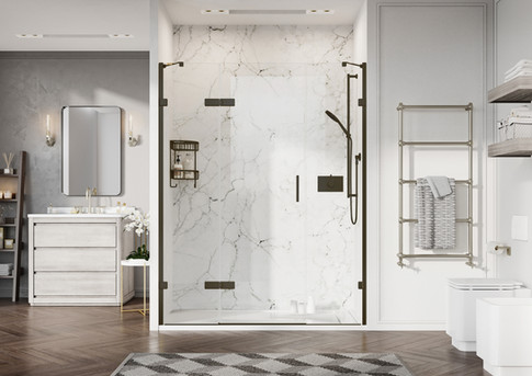 Liberty Hinged Door with Two In-Lines Bl