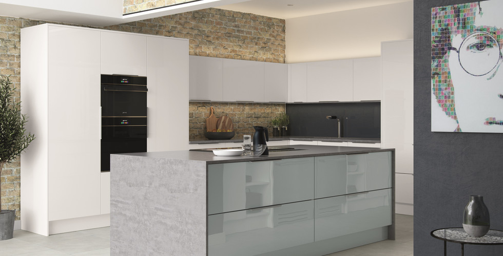 Lastra shown in White Gloss Acrylic & At