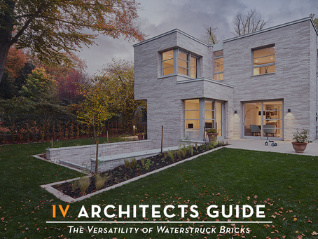 IV Architects Guide • The Versatility of Waterstruck Bricks •