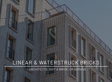 Linear & Waterstruck Bricks · Architects: Shit A Brick, Or Survive ·