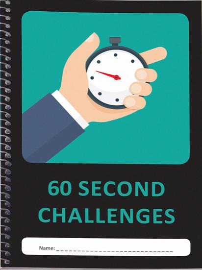 60 SECOND CHALLENGE BOOK