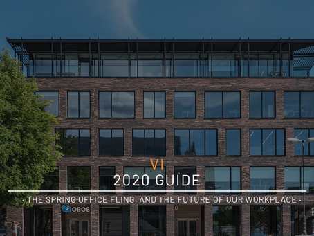 2020 Guide · The Spring Office Fling, And The Future Of Our Workplace ·