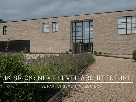 UK Brick: Next Level Architecture · Be Part Of Something Better ·
