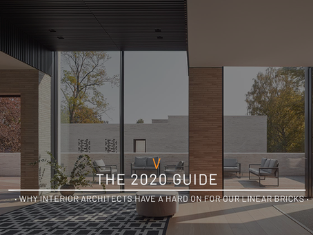 2020 Architecture Guide · Why Interior Architects Have A Hard On For Our Linear Bricks ·