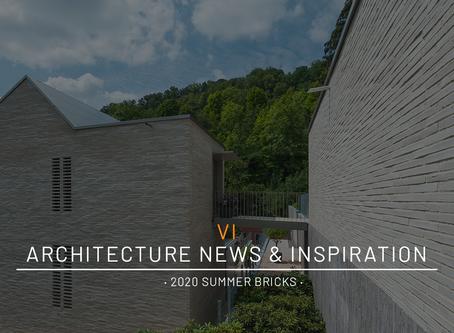 Architecture News & Inspiration · 2020 Summer Bricks ·