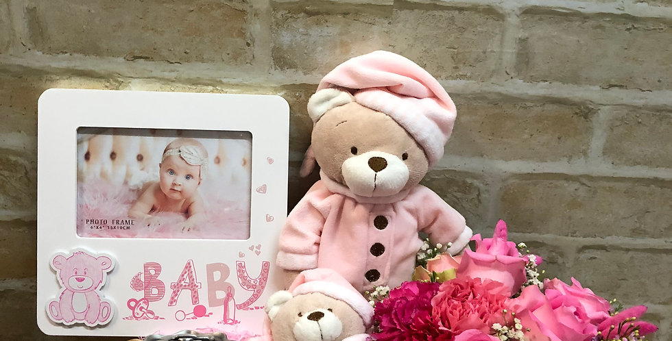 Baby Bear Girl Pink