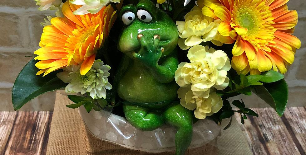 Cheeky Frog